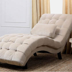 Daybeds chaises find futon day bed and chaise lounge for Abbyson living soho cream fabric chaise