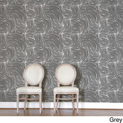 None - Magic Hair Wall Tile Sheets (Set of 2) - Wallpaper Tiles are a fun and carefree way to decorate any space, along with being easy to install and completely removable. These Magic Hair wall tiles are reusable, making them an ideal choice for renters.