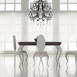 Macral Design  Nº 46. Dining room. - Dinning room. Composition Nº 46. The set includes: dining table + 4 chairs + sideboard / buffet: $6,328.