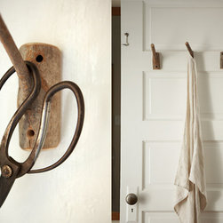 Handmade Wooden Branch Hooks - These handmade hooks from Live Wire Farm give such a great organic and rustic feel. Such an easy way to add seriously woodsy charm!