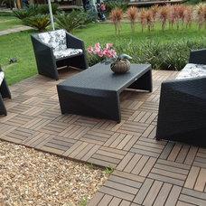 Contemporary Floor Tiles by FlexDeck