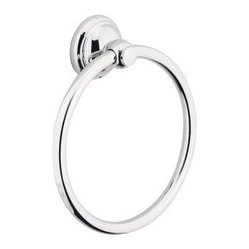 Hansgrohe-06095820 C Accessories Towel Ring in Brushed Nickel