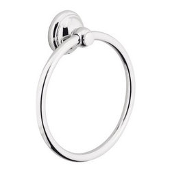 Hansgrohe - Hansgrohe-06095820 C Accessories Towel Ring in Brushed Nickel - Hansgrohe-06095820 C Accessories Towel Ring in Brushed NickelTo make the daily rituals in the bathroom even more comfortable for you, Hansgrohe offers accessories that match the faucet and shower lines within the World of Styles. These compelling counterparts offer beautiful designs as well as create convenience. Hansgrohe-06095820 C Accessories Towel Ring in Brushed Nickel, Features:• Solid brass construction• Wall mountedHansgrohe-06095820 Specification Sheet Hansgrohe Installation Instructions Hansgrohe Limited WarrantyManufacturer: HansgroheModel Number: 6095820Manufacturer Part Number: Hansgrohe 06095820Collection: Series CFinish Code: Finish: Brushed NickelUPC: 011097454344This product is also listed under the following Manufacturer Numbers and Finish Codes:Hansgrohe 06095820HG060958206095820Product Category: Bathroom AccessoriesProduct Type: Towel Ring