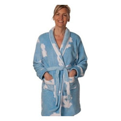 Emerson Street Div Of Abrasive Tool - University of North Carolina Ladies Fleece Robe - Get comfortable on pre-game mornings with this colorful University of North Carolina ladies fleece print robe. This great loungewear is made of 100% fleece and is super soft and super-comfy.