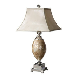 Uttermost - Pearl Table Lamp in Silver - 26981 - Table lamp