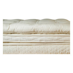 """Holy Lamb Organics - Holy Lamb Organics Ultimate Topper, Cal King - ULTIMATE Wool Topper: This best seller is for sleepers who like a deep plush pillow top. The Ultimate has 50% more wool than the regular Deep Sleep. Approximate loft 2.5- 3"""""""