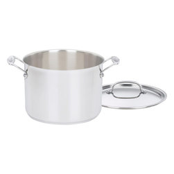 Cuisinart - Cuisinart Chef's Classic Stainless Steel 8-Quart Stockpot - Brilliant stainless steel finish for a classic look and professional performance