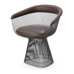 Platner Armchair, Leather