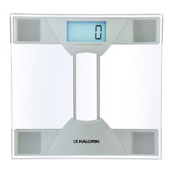 Kalorik - Digital Scale - Well, if you must have a bathroom scale, it may as well be stylish. This electronic scale has a convenient LCD screen for easy reading and a modern sleek glass design. You could store it away or keep it out on display.