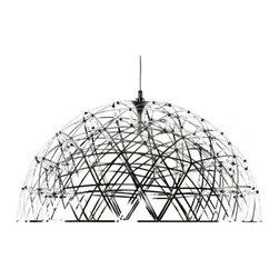 Modernist Dome Rays Suspension Light - Modernist Rays Dome Suspension Light
