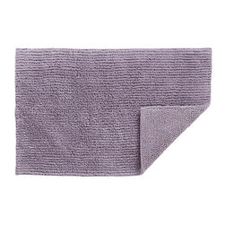 Reversible Wisteria Bath Rug - I just can't get enough of this color!