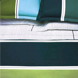 Area - Big Pool Duvet Cover - The bed linens are from a company called Area out of New York. Their products are designed by Anki Spets, with carefully chosen colors, one of a kind patterns and subtle details to create unique options.