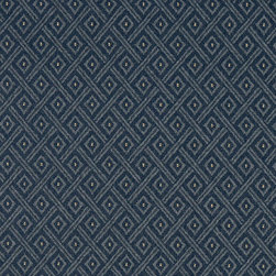 Navy Blue Diamond Heavy Duty Crypton Fabric By The Yard - P3067 is a woven crypton fabric. This material is breathable, stain, bacteria, moisture and abrasion resistant. Stains like blood and urine are easily removable with water and mild soap.