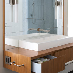 contemporary bathroom vanities and sink consoles by Doban Architecture
