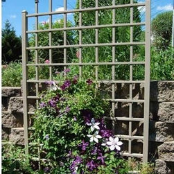Winchester Trellis - This trellis not only looks great but is nice and tall so you can place it somewhere you really need a little extra privacy. Plant flowering vines on it for a beautiful centerpiece in the summer.