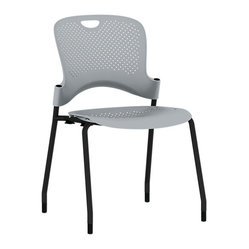 Caper Chair, No Arms - Black Frame