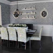 Dining Room by Janna Makaeva/Cutting Edge Stencils
