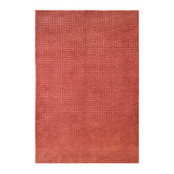 TB108D Tibetan Rug - 3'x5' - Safavieh's High Touch Tibetan Weave brings an ancient weave and fine materials to the present sensibilities of today's interior design. Simple geometric patterns, almost hidden within the weave, with muted accents, soft shades and neutral earth tones, are the main visual characteristics of this series.