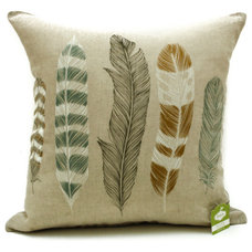 Contemporary Decorative Pillows by Tigertree