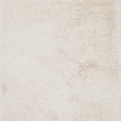 """Loloi Rugs - Loloi Rugs Orian Shag Collection - Ivory, 9'-3"""" x 13' - A luxe, head-turning series of shag rugs, Orian is hand-tufted in China of 100% polyester for great durability and exceptional softness. The densely packed yarns also make Orian a wonderful spot for bare feet too."""