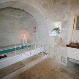 Antique Bathroom & Spa Wall & Floor Stone - Image by 'Ancient Surfaces'