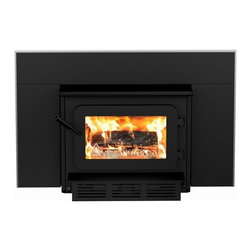 Flame - Flame XTD 1.9-I Woodburning Insert - -Heats up to 1,900 sq. ft. (75,000 BTUs), 2.3 cu ft. firebox