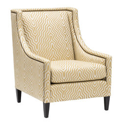 Mindy Chair, Yellow Stripe -