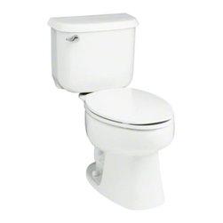 "STERLING PLUMBING - STERLING Windham(TM) 14"" Rough-in Elongated Toilet with Pro Force(R) Technology - Windham toilets are engineered to deliver exceptional performance and designed for functionality and style.  Vitreous china construction and a water-savings flush means dependable performance with lasting value."