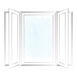 Ultra Series Picture Windows - Kolbe's picture casements are stationary windows, often used with operating casements on either side. They are designed to complement operating casements, so they match perfectly when used in combination with one another.