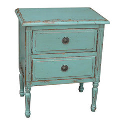 Furniture Classics Limited - Robin's Egg Blue Petite Jolie Chest -