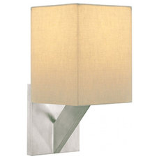Sable Square Wall Sconce by Tech Lighting | 700WSSBLSIS