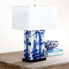 Asian Table Lamps by Wisteria