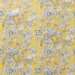 """Anthropologie - Cranesbill Castle Wallpaper - SureStrip  backing allows for paste-free application and easy removalGravure-printed non-woven paperRoll: 33'L, 20.5""""WRepeat: 20.5""""L  Covers 56 square feetUSA"""