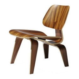 Eames Molded Plywood Lounge - Wood Base by Herman Miller -