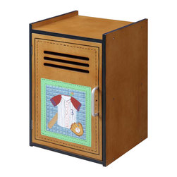Teamson Design - Teamson Kids Little Sports Fan Small Cabinet - Teamson Design - Kids Dressers - TD0016A. Is there something missing in your childs room? Why not add our Lil' Sports Fan end table cabinet. It's a very useful item that can be used as storage space.