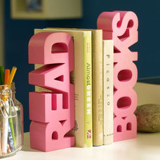 Modern Bookends by PBteen