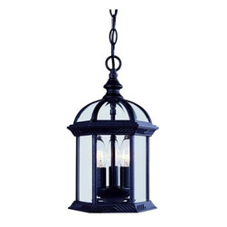 Savoy House - Savoy House 5-0635 3 Light Outdoor Pendant from the Kensington Collection - Savoy House 5-0635 Outdoor Hanging PendantSpecifications: