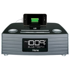 clocks iHome iBT97 Bluetooth Alarm Clock