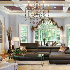 Traditional Family Room by Artistry Interiors, LLC