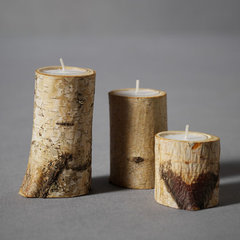 eclectic candles and candle holders by BHLDN