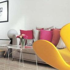 14 ideias para usar vermelho, roxo e rosa em salas e quartos - Casa.com.br
