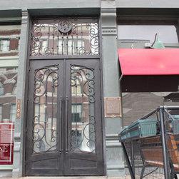 Cornerstone Lofts Historical Remodel Entry Door - Cornerstone Lofts finished door