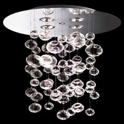 Ether 90 S Chandelier by Leucos Lighting -