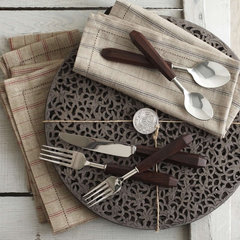 eclectic table linens by Harabu House