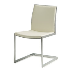 Temple Dining Chair, White, Set of 2