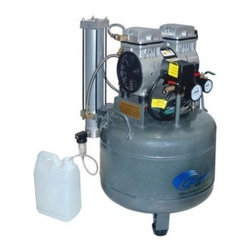 California Air Tools, Inc. - Air Compressor, Steel Tank With Air Dryer And Aftercooler - Ultra Quiet only 60 Decibels