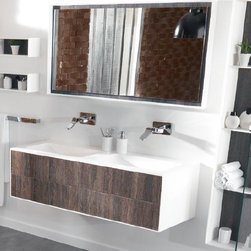 Ambiance Bain - Ambiance Bain | Kitoi Large Mirror - Made in France by Ambiance Bain.With classic form and durable materials, the Kitoi Large Mirror will make a striking addition to modern bathrooms. This beautifully crafted mirror promises to visually expand master bathrooms while delivering a crystal clear reflection with minimal glare. Select from a variety of sizes that will fit well in bathrooms of any size. Also available in a small version.Product Features:
