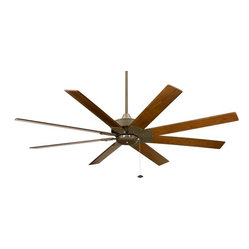 Levon Ceiling Fan, Oil-Rubbed Bronze Walnut