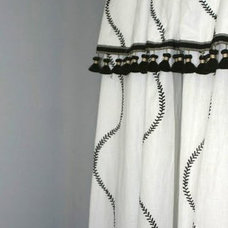 Eclectic Curtains by Lou Lou's Decor