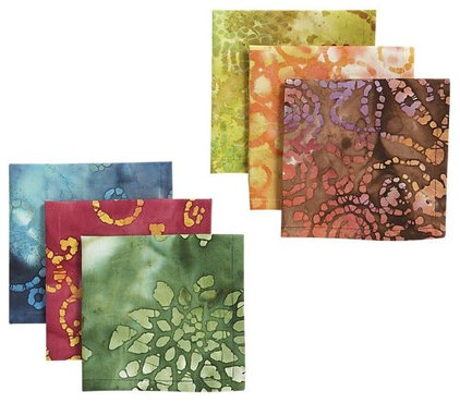 Eclectic Napkins by Crate&Barrel